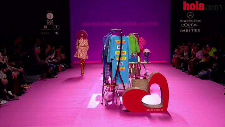 Fashion Week Madrid otoño-invierno 2014-2015: Agatha Ruiz de la Prada