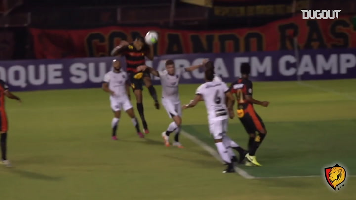 All Sport Recife's goals from 2020 Brazilian Championship first half