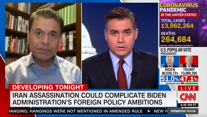 CNN's Zakaria: Killing Iranian Nuclear Scientist Will 'Make' Iran 'Raise Tensions'