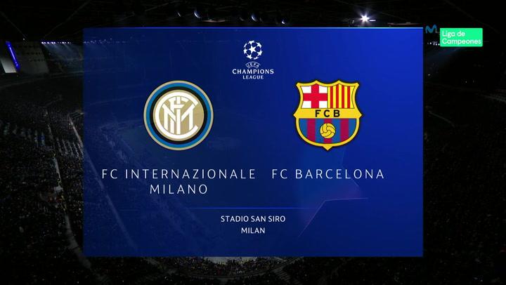 Champions League: Resumen y Goles del Inter - Barça