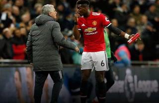 Mourinho y Pogba, enfrascados en problemas de camerino en el Manchester United