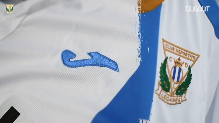 CD Leganés's new kit