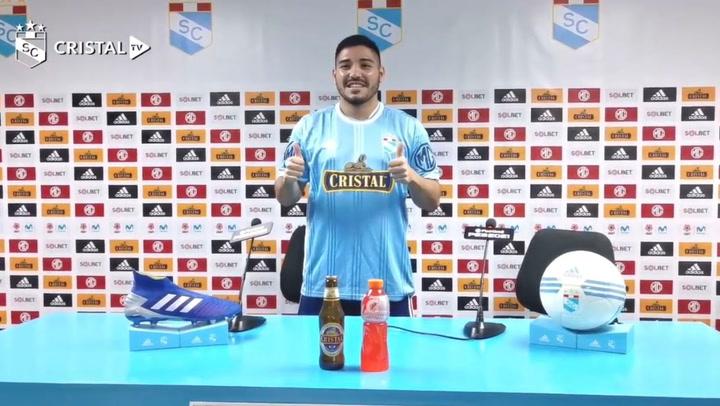 Sporting Cristal: Percy Prado se ilusiona con equipo del Rímac