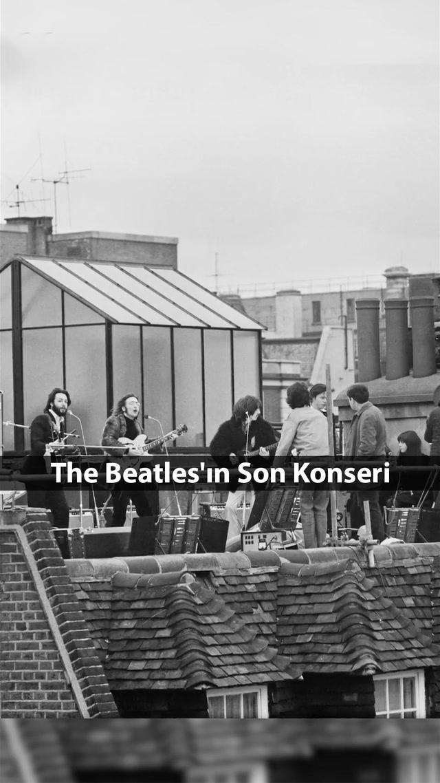 The Beatles'ın zirvede bıraktığı konser