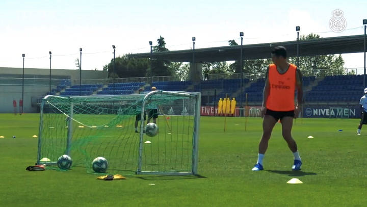 Return to training at Real Madrid City with LaLiga on the horizon