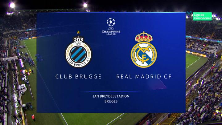 Champions League: Resumen y Goles del Brujas - Real Madrid