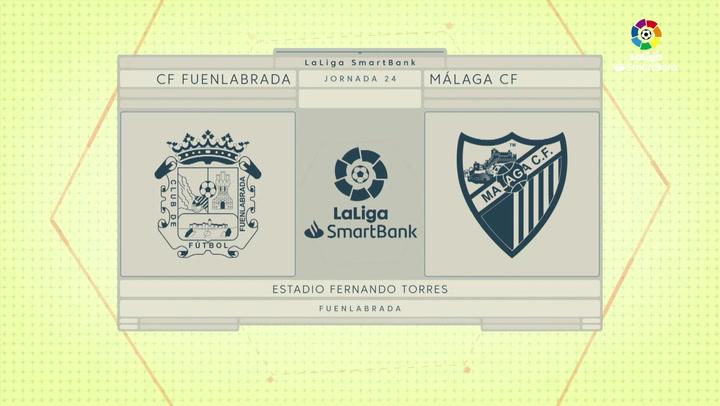 LaLiga SmartBank (J24): Resumen del Fuenlabrada 0-0 Málaga