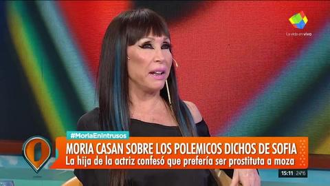 Moria Casan reveló que fue prostituta y confesó: Cobré por sexo y me encantaba
