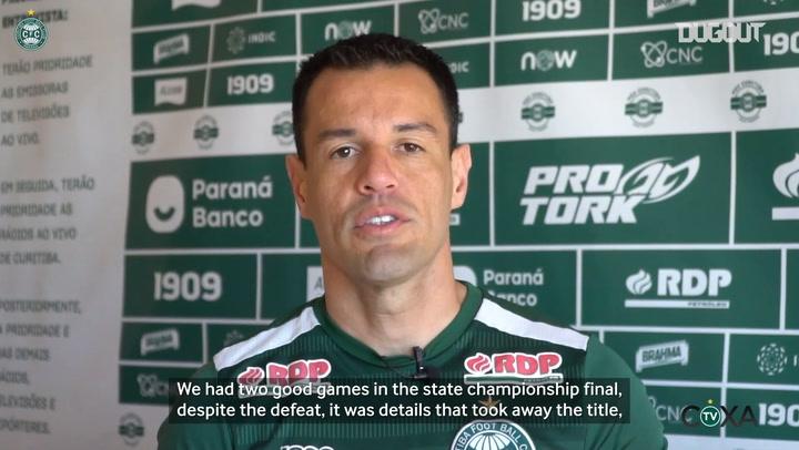 Wilson on Coritiba's next Brazilian Championship match