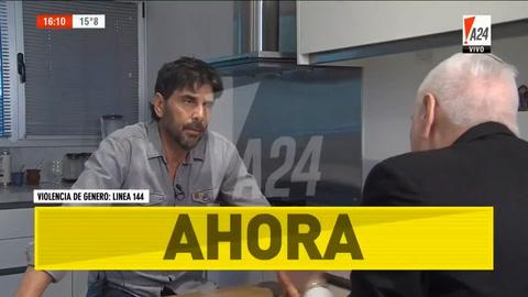 Juan Darthés tomó un vuelo desde Rosario y se fue a Brasil