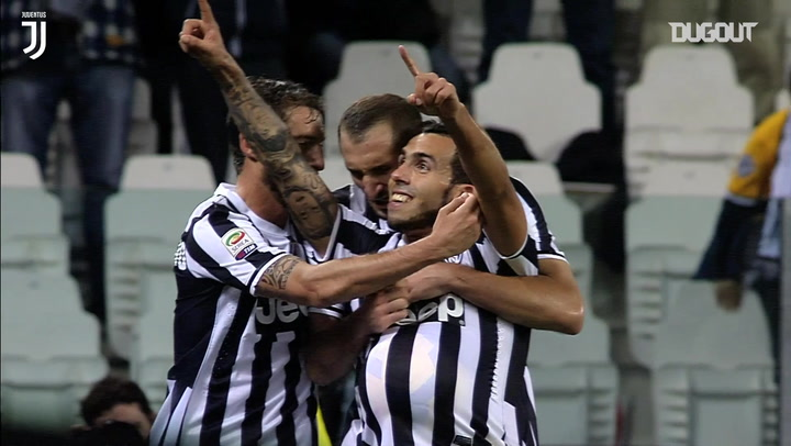 Carlos Tevez's best Juventus goals and skills
