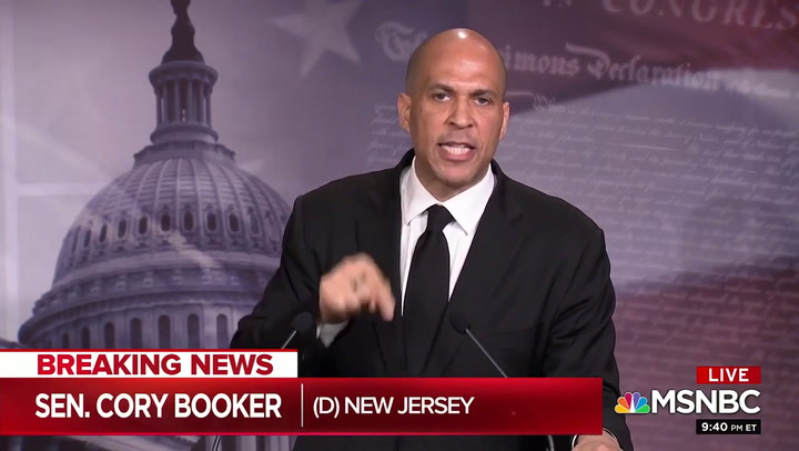Cory Booker on MSNBC's