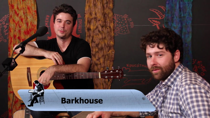 Barkhouse performs Pray for Rain on The Jimmy Lloyd Songwriter Showcase