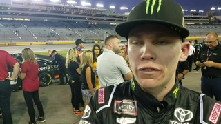 Riley Herbst, Noah Gragson on night at the races