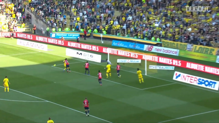 Eysseric's first goal with Nantes