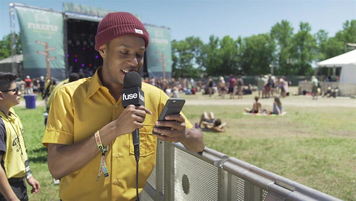 Rapper Pell Gives Fans His Personal Phone Number At Firefly 2016