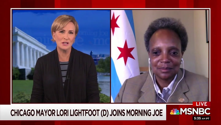 Lightfoot: 'Trump Doesn't Understand the First Thing About Local Policing' -- Calls for 'Commonsense Gun Reform'
