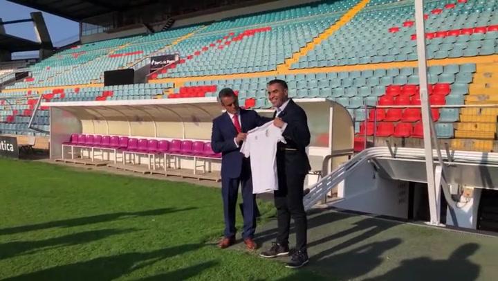 El entrenador del Salamanca, Marco Antonio Rodríguez 'Chiquimarco', fulminado en tres días