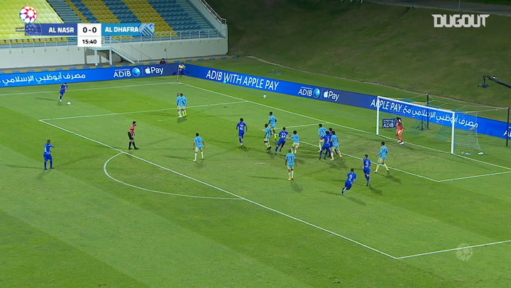 Highlights: Al-Dhafra 0-2 Al-Nasr