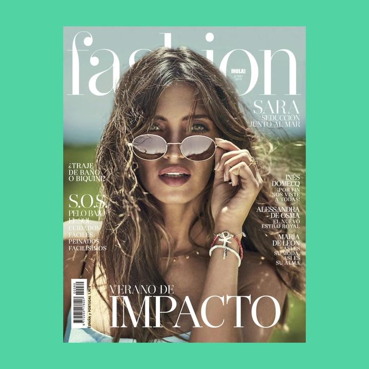 Sara Carbonero, un verano de impacto en FASHION junio