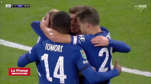 Tottenham eliminó al Chelsea de la Carabao Cup