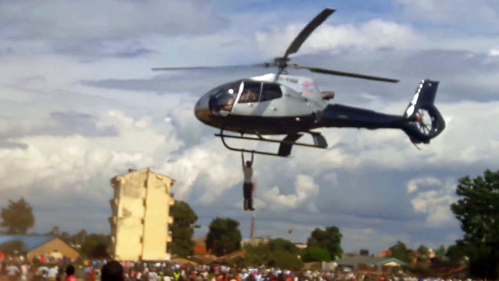Mann nektet å slippe helikopteret