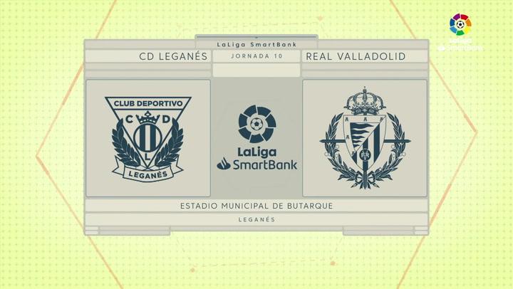 LaLiga SmartBank (J10): Resumen y goles del Leganés 0-2 Valladolid