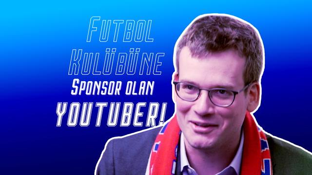 Futbol kulübüne sponsor olan Youtuber