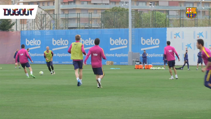 Lionel Messi Training Skills