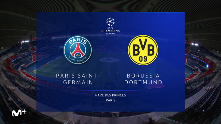 Champions League: Resumen y Goles del PSG - Borussia Dortmund