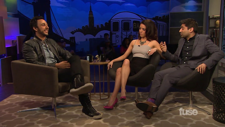 Amir Arinson Shows off his Scooby-Doo Impression on White Guy Talk Show