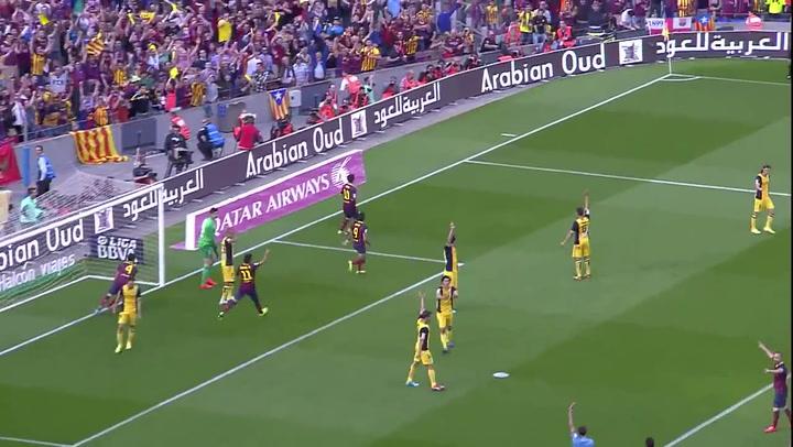 El Barça podría haber ganado la  Liga 2013-14 al Atlético si hubiera existido el VAR