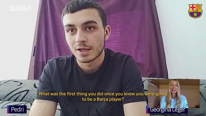 Pedri: 'My role model has been Iniesta'