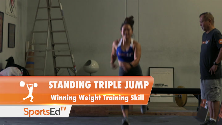 Standing Triple Jump - Winning Weight Training Skill