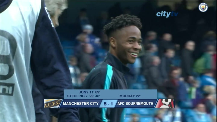 Raheem Sterling's masterclass against AFC Bournemouth