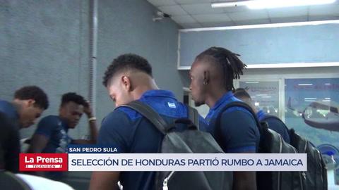 Selección de Honduras partió rumbo a Jamaica para su debut en Copa Oro