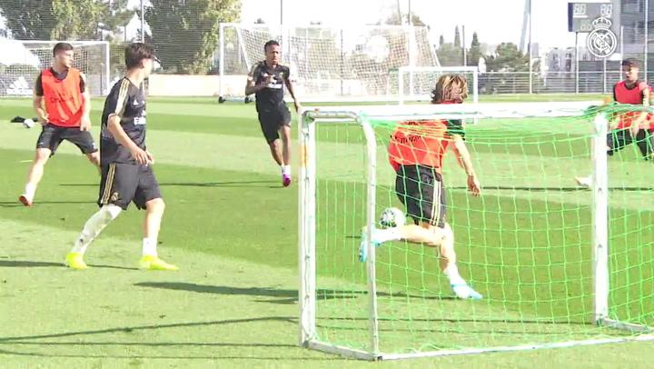 Marcelo sigue al margen a dos días del partido ante el Brujas