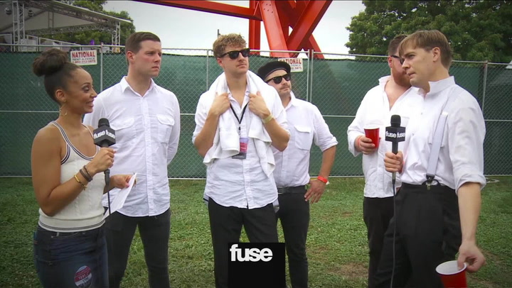 "Festivals: Made in America: The Hives Tell Their DIY Story Behind the ""Wait A Minute"" Music Video"