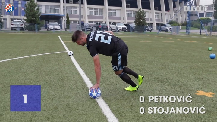Penalty Challenge: Bruno Petković Vs Petar Stojanović