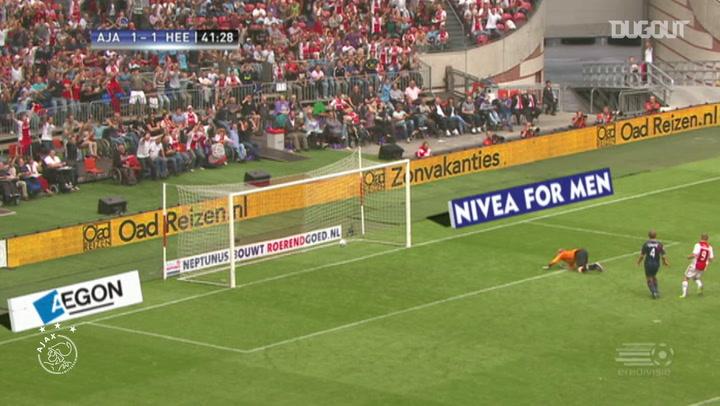 Toby Alderweireld's long-distance stunner vs SC Heerenveen