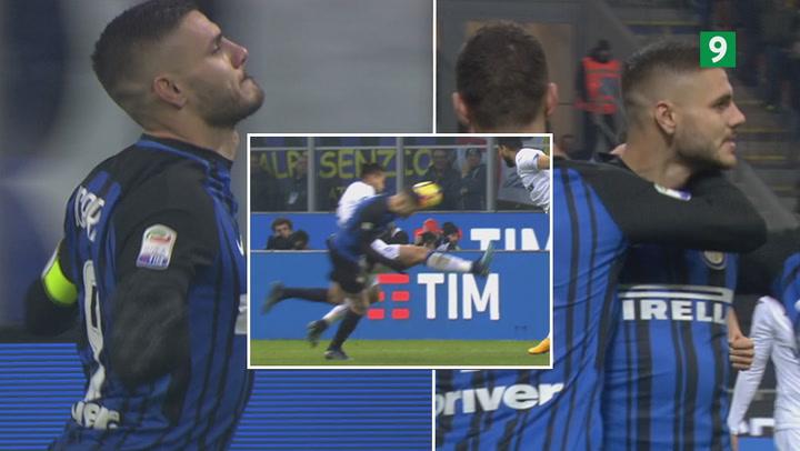 Highlights: Topscoren Icardi viste sin verdensklasse mod Atalanta