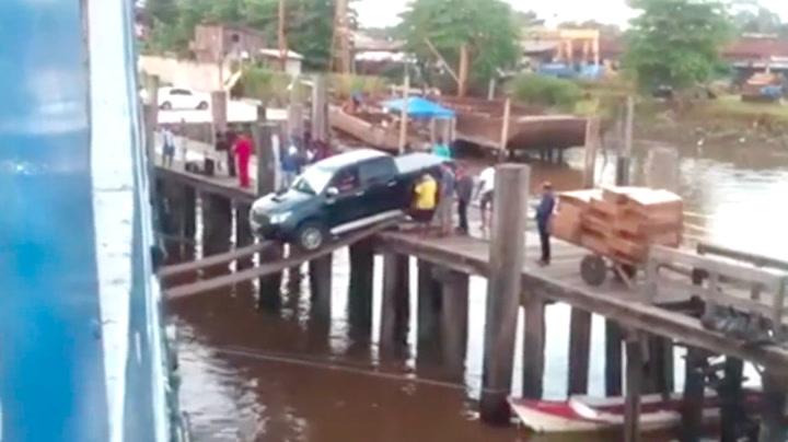 Har sjåføren gått fullstendig fra vettet?