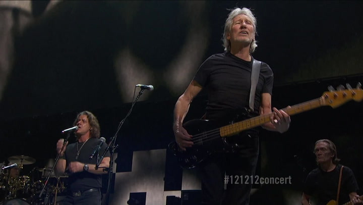 """Roger Waters & Eddie Vedder Perform """"Us and Them"""" - 12-12-12 The Concert for Sandy Relief"""