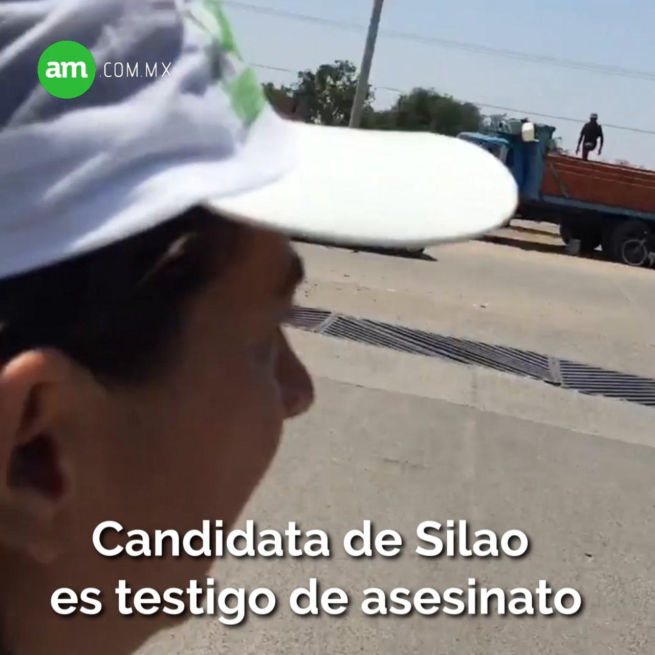 Video: Candidata de Silao es testigo de asesinato