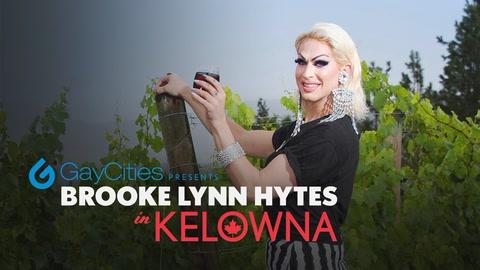 Brooke Lynn Hytes in Kelowna