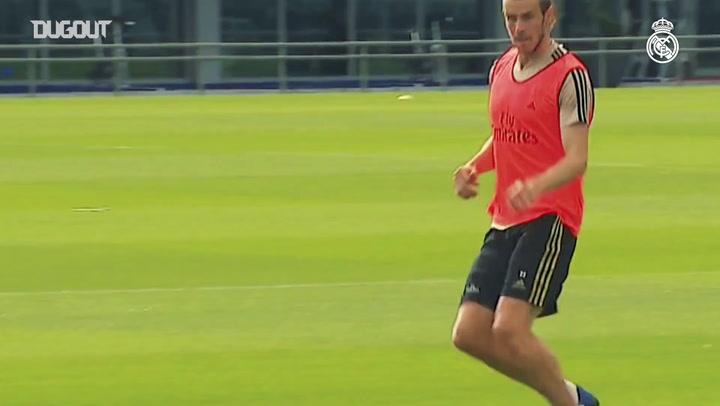 Real Madrid treina em dois grupos no CT
