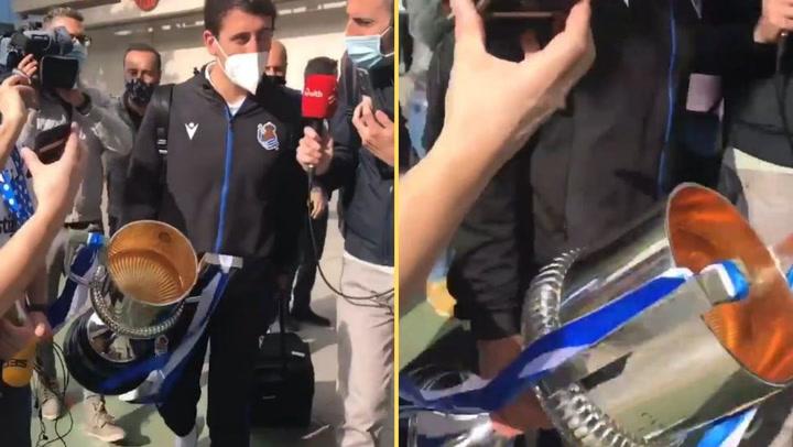 La Copa ya vuela hacia Donostia