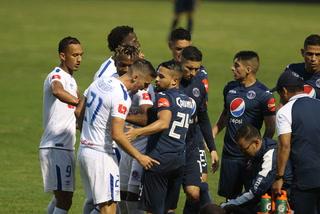 Olimpia y Motagua empatan en el Nacional