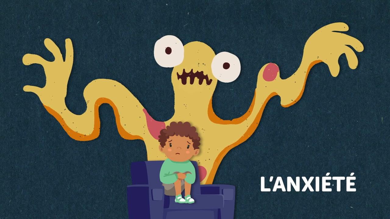 Déjouons l'anxiété! Une nouvelle capsule destinée aux enfants [VIDÉO]