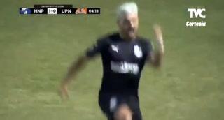 Puntazo y gol de Honduras Progreso con Matías Rotondi entre cinco defensores de UPNFM (VIDEO)